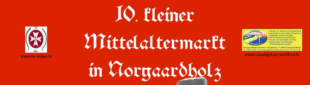 Logo: Kleiner Mittelaltermarkt in Norgaardholz