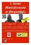 5. kleiner Mittelaltermarkt in Norgaardholz (2016)